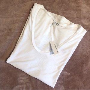 James Perse | White Cotton tee